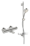 ORAS NOVA AKCIJAS Vannas un dušas termostata jaucējkrāns ar dušas komplektu 7414U