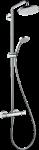 HANSGROHE Croma 220 Showerpipe Dušas sistēma ar termostatu 27185000