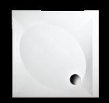 PAA ART KV 100 Dušas paliktnis 100x100 ar paneli