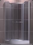 ROLTECHNIK DENVER dušas kabīne 900 sudrabs/rauch