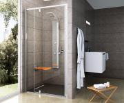 RAVAK PDOP2 Pivot Veramās dušas durvis