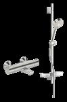 ORAS NOVA 7414U Vannas un dušas termostata jaucējkrāns ar dušas komplektu