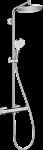 HANSGROHE CROMETTA S dušas komplekts 240 ar termostatu 27267000