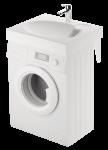 PAA CLARO MINI 60x50 Izlietne uz veļas mašīnas komplektā