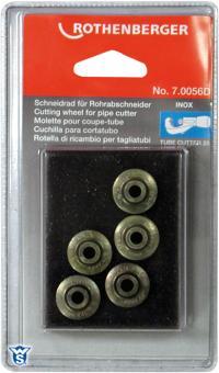 Rothenberger Rezerves asmenīši INOX cauruļu griezējam 5 gab. 70056D T470056D