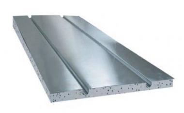 ALU PLATE 2 kan. 1000x390x0.5mm, izol.30mm