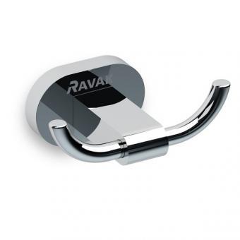 RAVAK CHROME CR 100.00 dubultais āķis - pakaramais X07P186