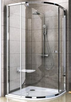 RAVAK PSKK3 Pivot Dušas kabīne 90 spīdīga + stikls Transparent 37677C00Z1