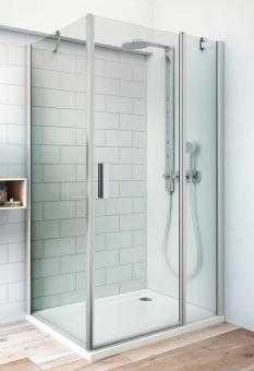 ROLTECHNIK TB dušas siena 700 sudrabs/stikls