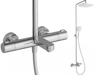 RAVAK TE092.00/150 Dušas sistēma ar termostatu 300 X070098