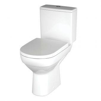 CERSANIT CITY 010 CleanOn pods izplūde 90° 3/6l ar SoftClose vāku