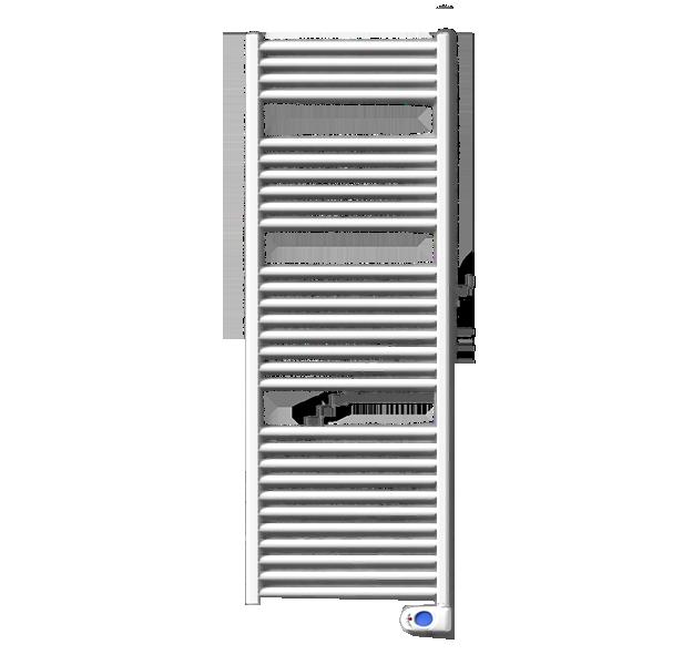 Fondital Ecool ED 1000w Alumīnija elektriskajs dvieļu žāvētājs ar digitālo kontroli 45x628xH1815