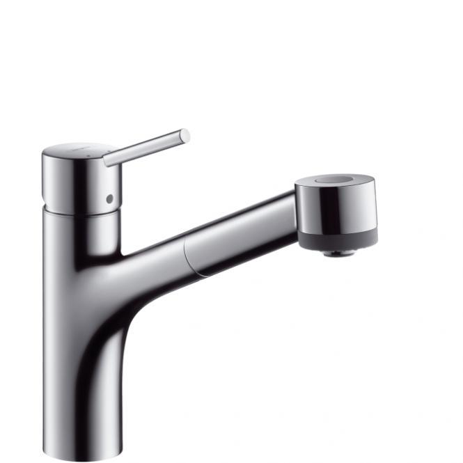HANSGROHE Talis S virtuves izlietnes jaucējkrāns ar izvelkamu dušu 32841000
