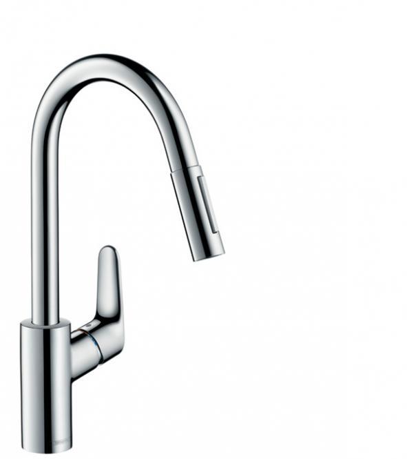 Hansgrohe Focus M41 смеситель для кухни 240 с вытяжным душем 31815000