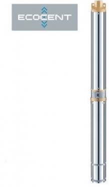 ECOCENT Dziļurbuma sūknis ar iebūvētu kondensatoru 3SD2-57/21-CC 1,0HP 78mm