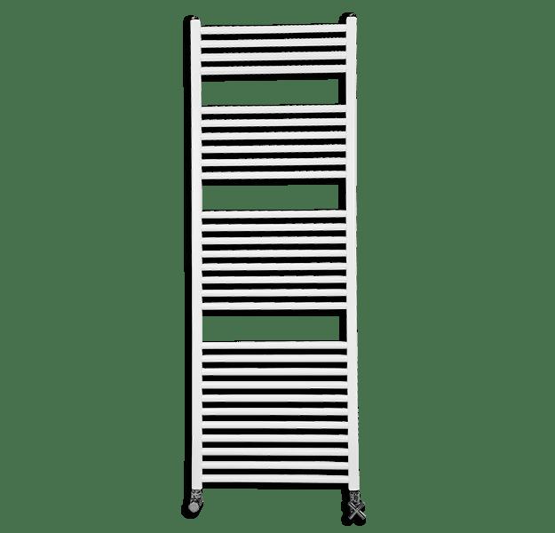 Fondital COOL Alumīnija dvieļu žāvētājs H860x500mm (balts apkures)