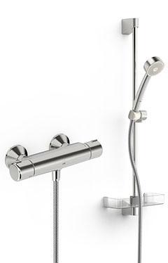 ORAS komplekts 7452X NOVA dušas termostats 4160X + APOLLO EKO 530 dušas komplekts