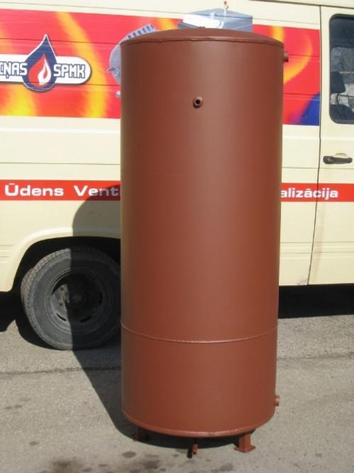 Grobiņas SPMK накопительный бак 670л Ø800mm