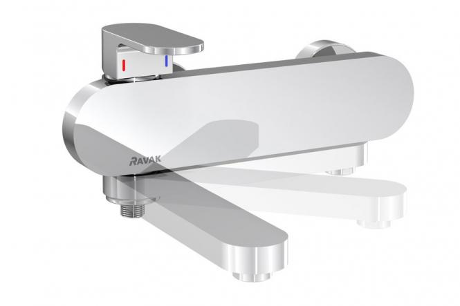 RAVAK Chrome CR022.00/150 Sienas vannas/dušas maisītājs X070042