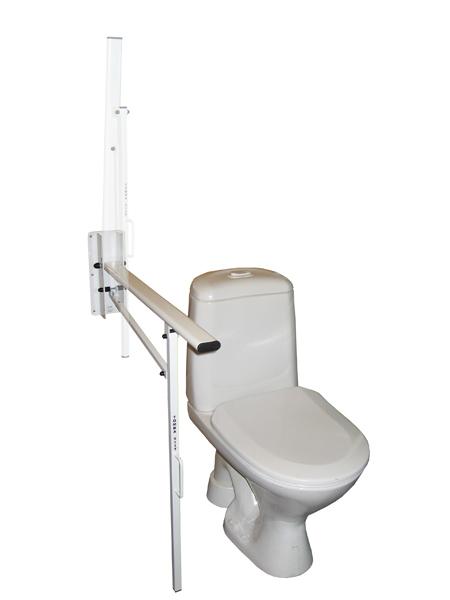 Invalīdu atbalsta rokturis ar atbalsta kāju - sienas stiprinājums 901