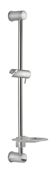 Nordline SIMPLE 505 dušas stienis ar ziepju trauku H620/580