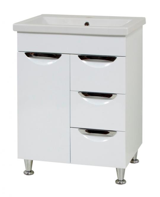 LAURA 60 шкафчик с умывальником 56.5x80x43