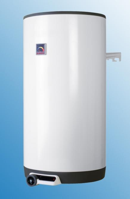 Dražice Kombinēts ūdens sildītājs OKC 125 ar siltummaiņa platību 1m² vertikāls 13000235