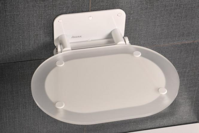 RAVAK OVO CHROME dušas sēdeklis