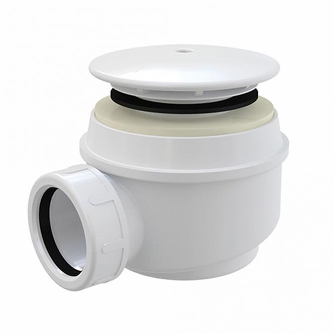 ROLTECHNIK Dušas paliktņa sifons DN50/60 balta plastmasa