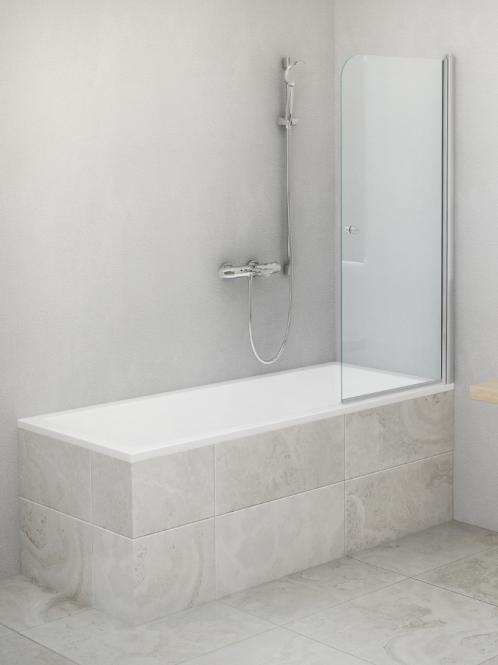Roth Roltechnik загородка для ванны TV1 700x1400x620 брилл./стекло