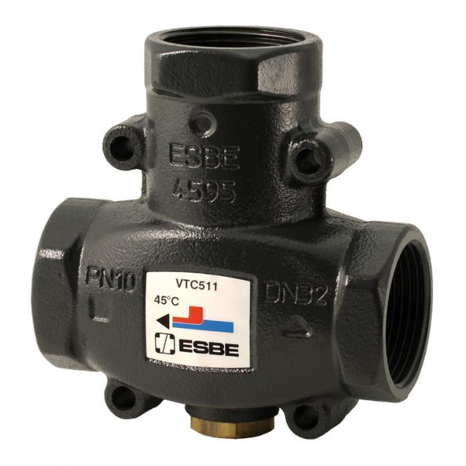 "ESBE Termovārsts VTC511 25-9 DN25 Kvs.9 70°C Rp1"""