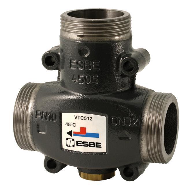 """ESBE Termovārsts VTC512 DN32 Kvs.14 60°C G 1½"""""""